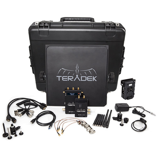 Teradek Bolt 2000 SDI/HDMI Wireless Video Transmitter/Receiver Deluxe Kit