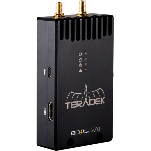 Teradek Bolt Pro 2000 SDI/HDMI Wireless Video Transmitter