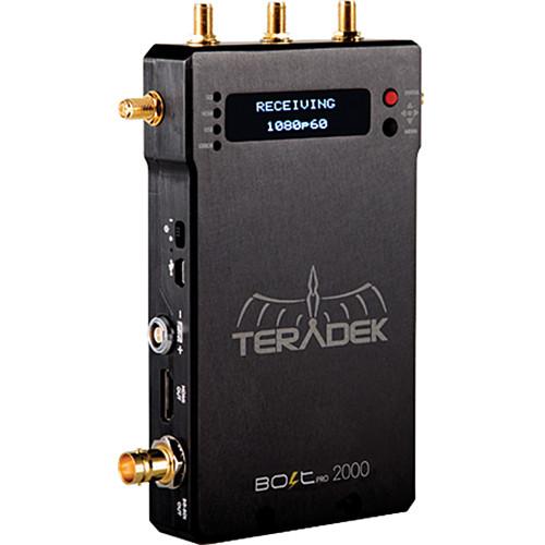 Teradek Bolt Pro 2000 Classic Wireless HD-SDI and HDMI Video Receiver