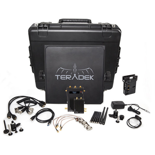 Teradek Bolt 3000 SDI/HDMI Wireless Transmitter & Receiver Deluxe Kit (GoldMount)