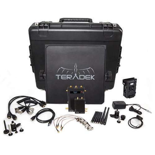 Teradek Bolt 3000 SDI/HDMI Wireless Transmitter & Receiver Deluxe Kit (V-Mount)