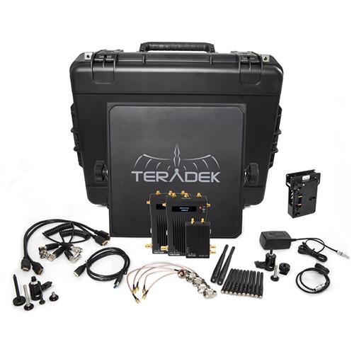 Teradek Bolt 3000 SDI/HDMI Wireless Transmitter & Dual Receiver Deluxe Kit (V-Mount)
