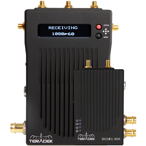 Teradek Bolt 3000 SDI/HDMI Wireless Video Transmitter/Receiver Set
