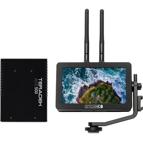 Teradek SmallHD FOCUS Bolt 500 TX Monitor and Ace 500 HDMI Receiver Bundle