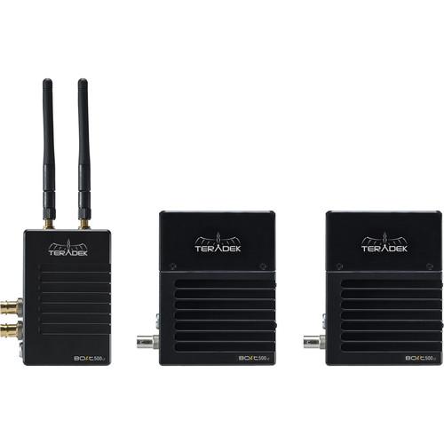 Teradek Bolt 500 LT 3G-SDI Wireless Transmitter and 2 x Receivers