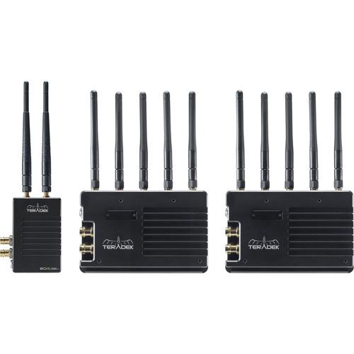 Teradek Bolt 3000 XT 3G-SDI/HDMI Transmitter and Receiver Deluxe Kit (V-Mount)