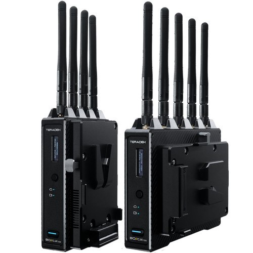 Teradek Bolt 4K 1500 12G-SDI/HDMI Wireless Video Kit with V-Mount Battery Plate (1500' Range)