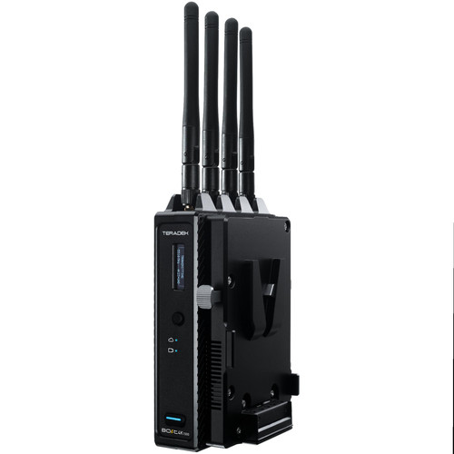 Teradek Bolt 4K 1500 12G-SDI/HDMI Wireless Transmitter with V-Mount Battery Plate