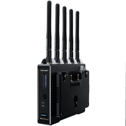 Teradek Bolt 4K 1500 12G-SDI/HDMI Wireless Receiver with Gold Mount Battery Plate