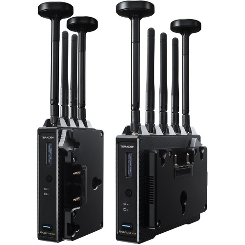 Teradek Bolt 4K MAX Wireless TX/RX Set (Gold Mount)