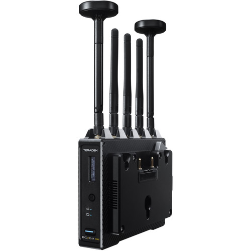 Teradek Bolt 4K MAX 12G-SDI/HDMI Wireless Receiver (Gold Mount)