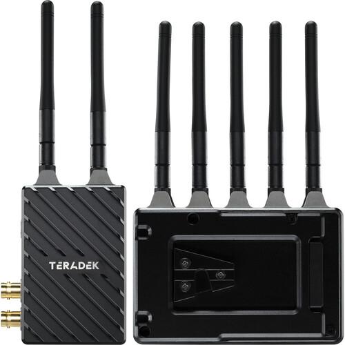 Teradek Bolt 4K LT 1500 3G-SDI/HDMI Wireless RX/TX Deluxe Kit (V-Mount)