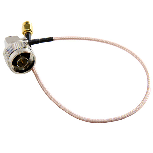 """Teradek N-Type Male to RP-SMA Cable (12"""")"""