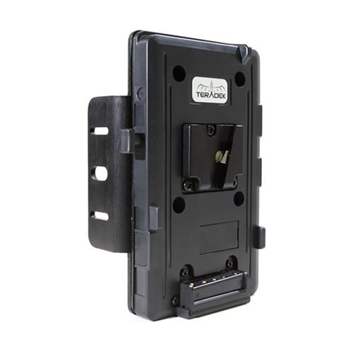 Teradek Single V-Mount 14.4V Battery Plate for Bolt Pro 300/500/600/1000/2000/3000 Transmitters
