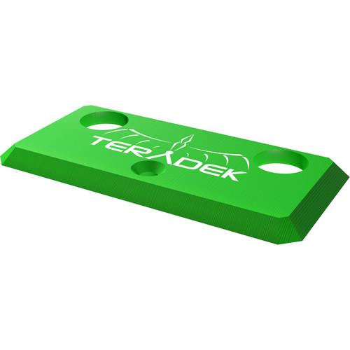 Teradek Accessory Plate for Bolt 1000/3000 (Green)