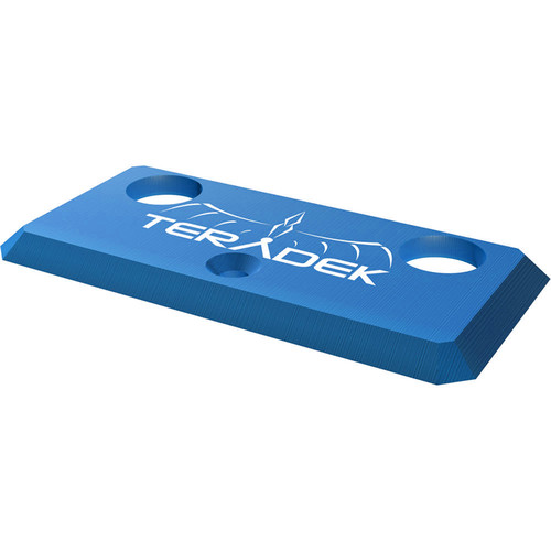Teradek Accessory Plate for Bolt 1000/3000 (Blue)