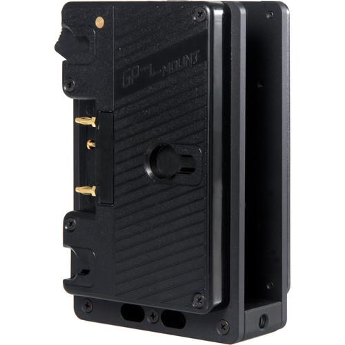 Teradek Dual 14.4V Gold Mount Battery Plate for Bolt Pro 300/500/1000/2000/3000 Receivers