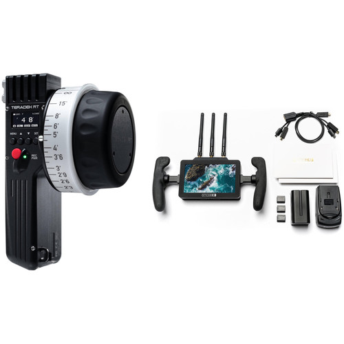 Teradek Wireless Lens Control Kit with SmallHD FOCUS Bolt 500 Monitor