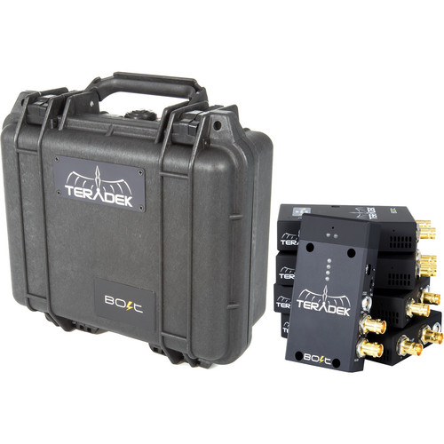 Teradek Protective Case for 1st Generation Bolt 1Tx and 4Rx Set