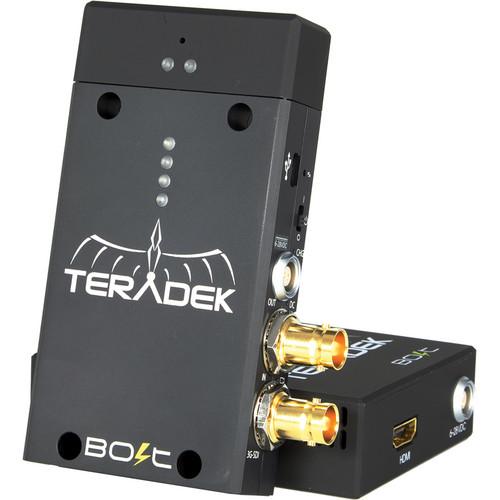 Teradek Bolt Pro Wireless HD-SDI Transmitter and HDMI Receiver Set