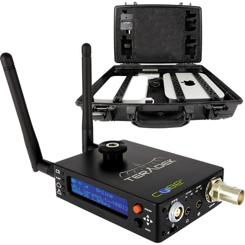 Teradek CASE with Cube-155 HD-SDI Video Encoder