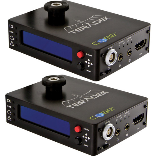 Teradek Cube 205/405 1-Channel HDMI Encoder/Decoder Pair