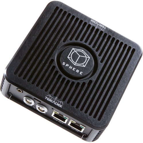 Teradek Sphere Real-Time 360-Degree Monitoring and Live Streaming System