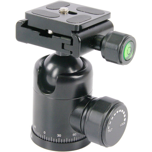 TERRA FIRMA Tripods T-BH300 Pro All Metal Ball Head with Quick Release Plate