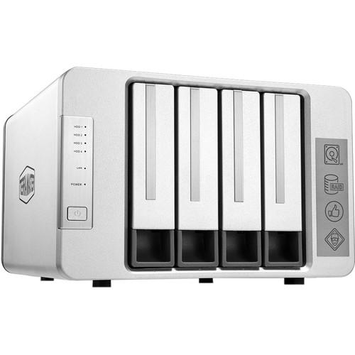 TerraMaster NAS 4-Bay Cloud Storage Intel Quad Core 1.5GHz Plex Media Server Network Storage (without HDD)