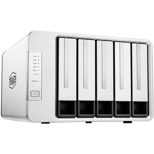 TerraMaster NAS 5-Bay Cloud Storage Intel Quad Core 2.0GHz Plex Media Server Network Storage (without HDD)