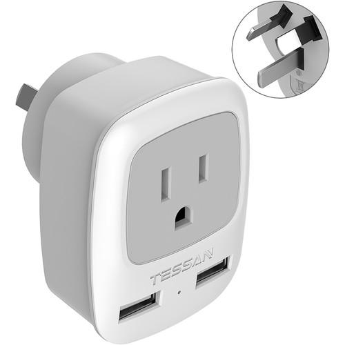 Tessan Type I Travel Power Adapter (Australia)
