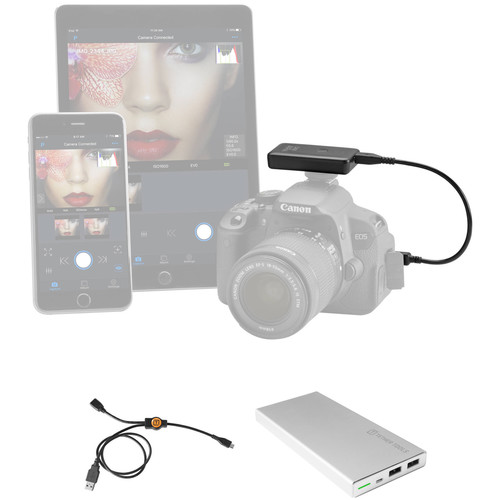 Tether Tools Case Air Wireless Tethering Power Bundle