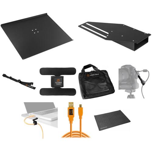 Tether Tools Pro Tethering Kit with 15' Orange USB 2.0 Mini B Cable