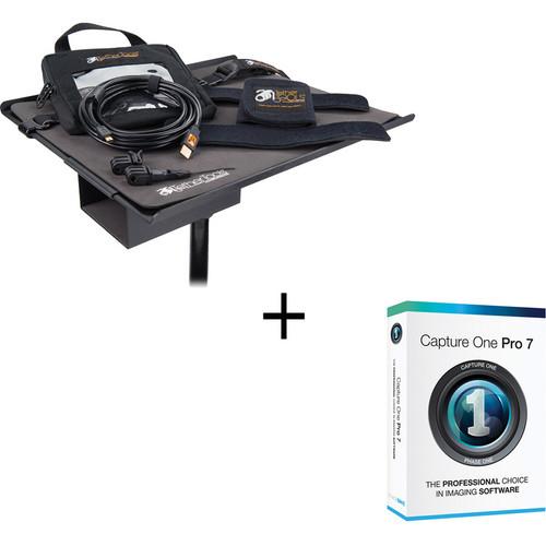 Tether Tools USB 2.0 Mini-B Cable + Capture One Tether Tools Pro Kit (Black)