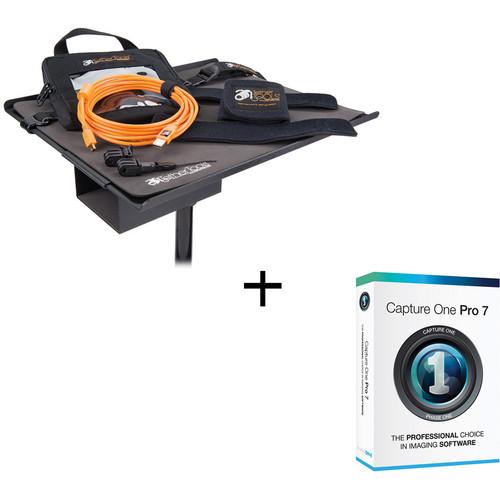 Tether Tools USB 2.0 Mini-B Cable + Capture One Tether Tools Pro Kit (Orange)