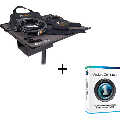 Tether Tools USB 3.0 Micro-B Cable + Capture One Tether Tools Pro Kit (Black)