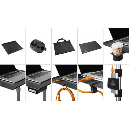 """Tether Tools Aero Traveler Pro Tethering Kit (16 x 14"""" Pad)"""