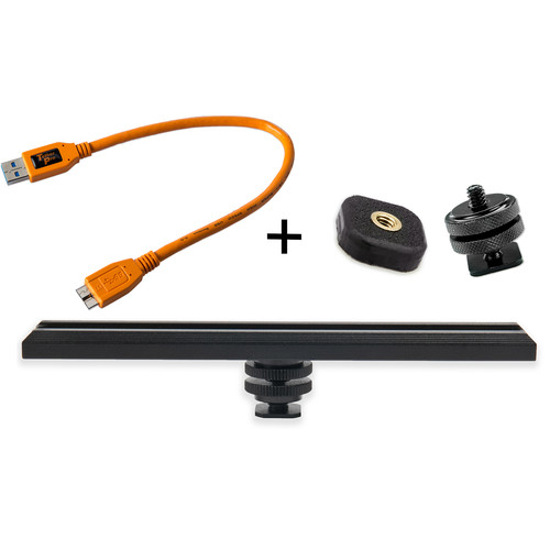 Tether Tools CamRanger Camera Mounting Kit with USB 3.0 Cable (Orange)