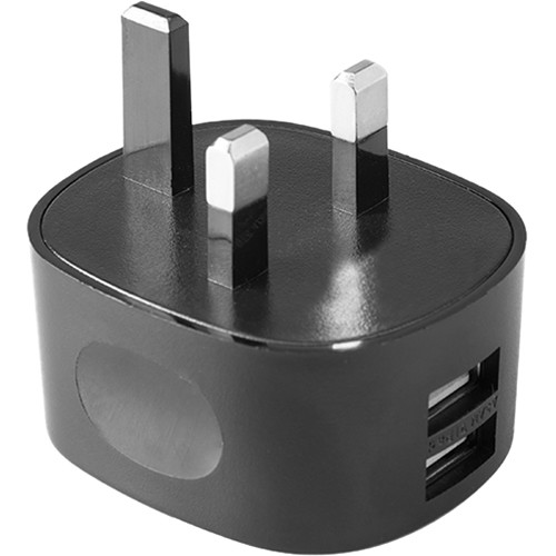 Tether Tools Rock Solid Dual USB to Wall Adapter (UK Standard Adapter)