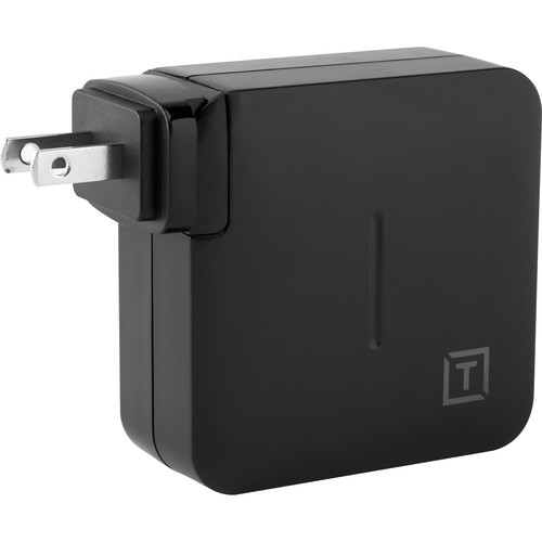 Tether Tools ONsite USB-C 61W Wall Charger with US, UK, EU, AU Wall Adapters