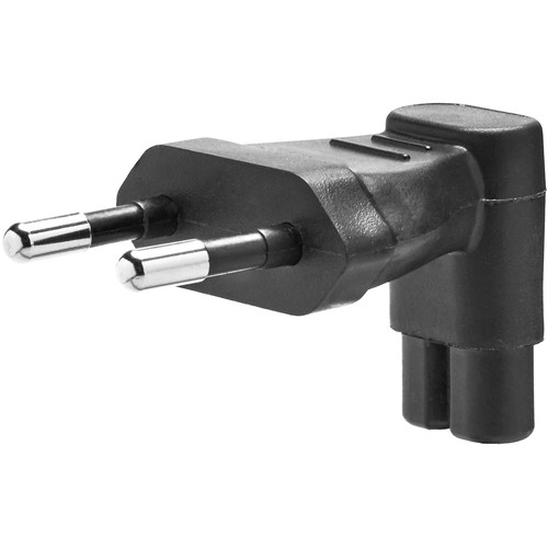 Tether Tools Onsite Power Plug Angle Adapter (EU Prongs)