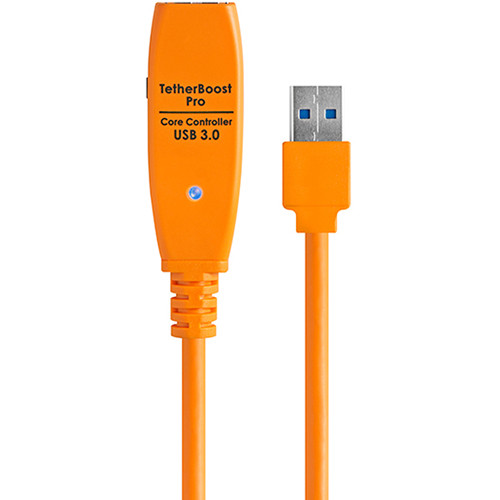 Tether Tools TetherBoost Pro USB 3.0 Core Controller (Japanese Plug, Orange)