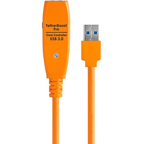 Tether Tools TetherBoost Pro USB 3.0 Core Controller (UK Plug, Orange)