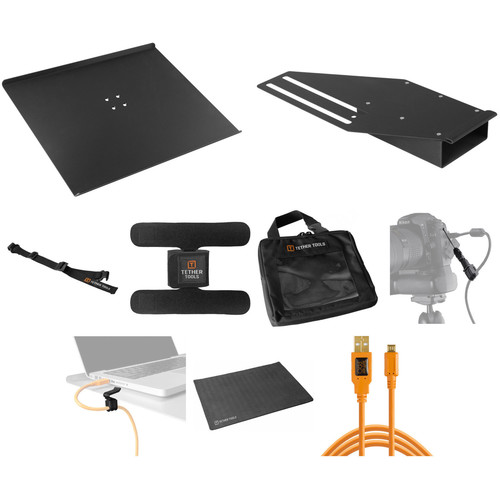 Tether Tools Tethering Platform with USB Micro-B Cable B&H Kit (Orange)