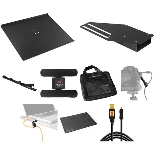 Tether Tools Tethering Platform with USB Mini-B Cable B&H Kit (Black)