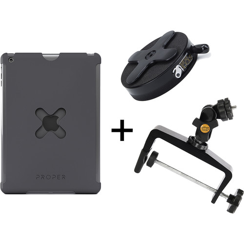 Tether Tools WU2BLK40 iPad Utility Mounting Kit for iPad 2 (X-Large, Black)