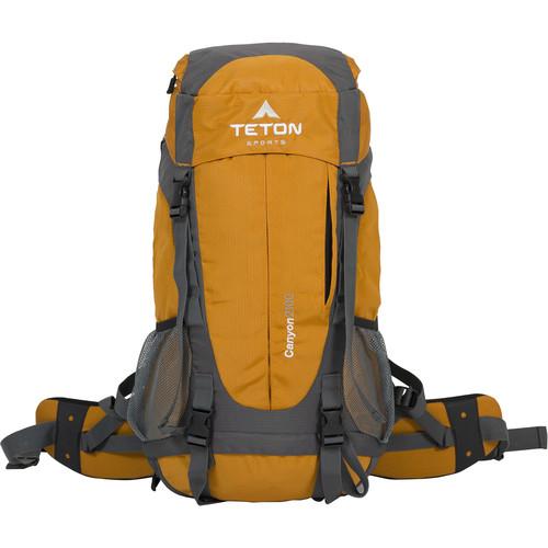 TETON Sports Canyon2100 Canyoneering Backpack (35L, Orange)