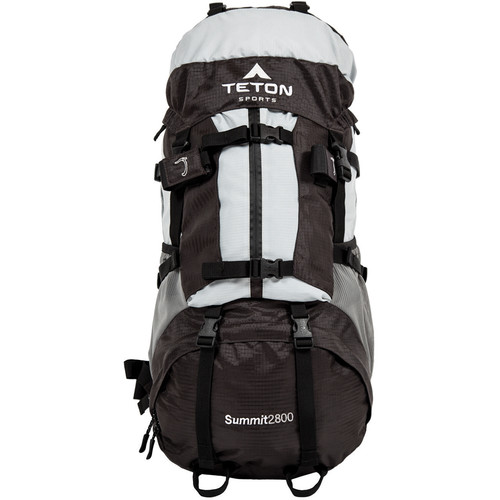 TETON Sports Summit 2800 UltraLight Day Backpack (45L, Metallic Grey)