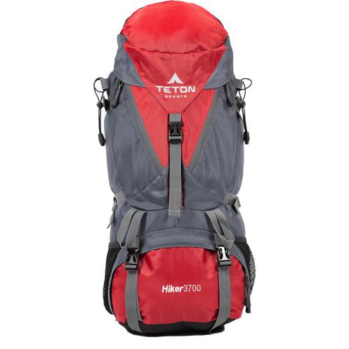 TETON Sports Hiker3700 Internal Frame Backpack (Red)