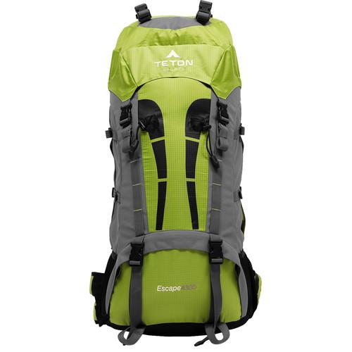 TETON Sports Escape4300 70L Internal Frame Backpack (Leaf Green)
